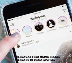 Tren Media Sosial Terbaru Dan Terlengkap Tahun 2020